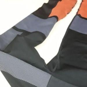 JoyLab Leggings HighRise Active NEW M Grey Orange